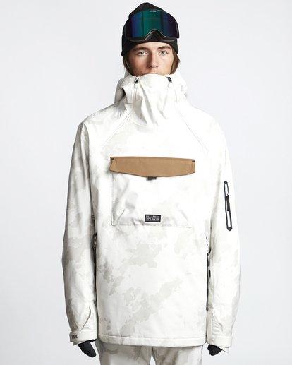 1 Quest - Ski- und Snowboardjacke für Männer Beige Q6JM13BIF9 Billabong