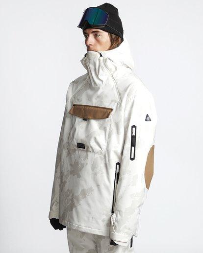 3 Quest - Ski- und Snowboardjacke für Männer Beige Q6JM13BIF9 Billabong