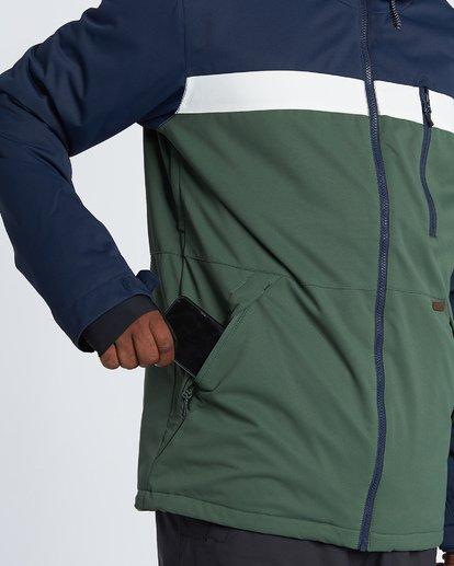 4 All Day - Snow Jacket for Men Green Q6JM14BIF9 Billabong