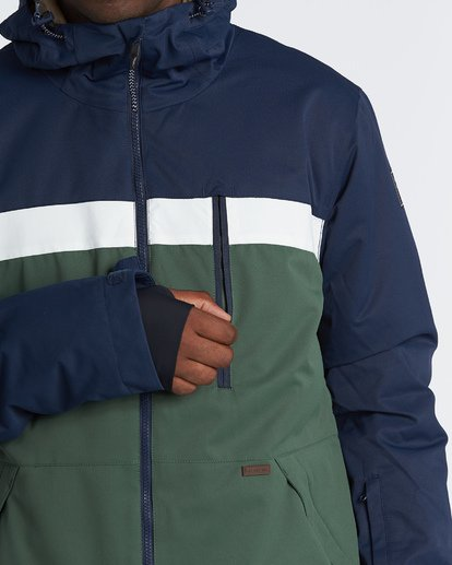 7 All Day - Snow Jacket for Men Green Q6JM14BIF9 Billabong