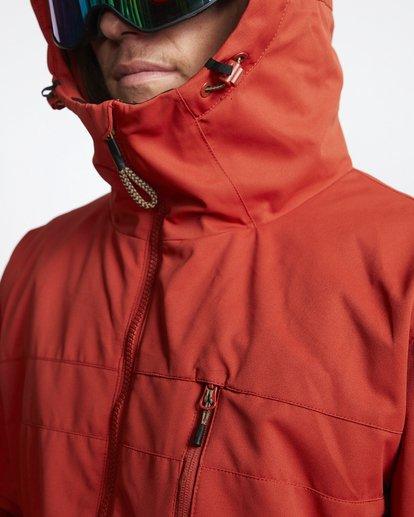 6 All Day - Veste de Snow pour Homme Rouge Q6JM14BIF9 Billabong