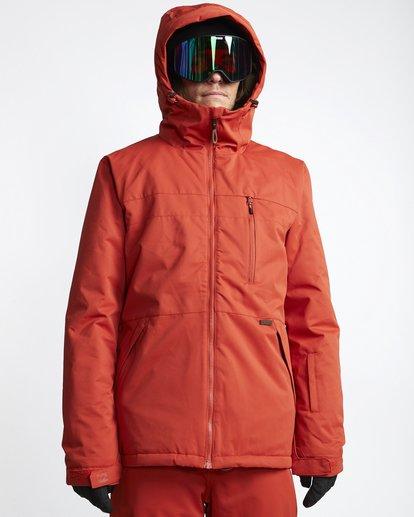 0 All Day - Veste de Snow pour Homme Rouge Q6JM14BIF9 Billabong