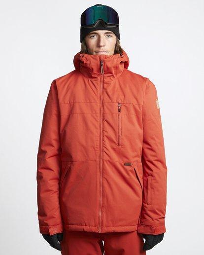 1 All Day - Veste de Snow pour Homme Rouge Q6JM14BIF9 Billabong