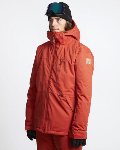 3 All Day - Veste de Snow pour Homme Rouge Q6JM14BIF9 Billabong
