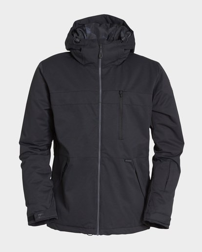 5 All Day 2L 10K Jacket Black Q6JM14S Billabong