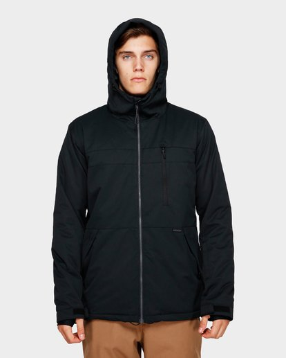 4 All Day 2L 10K Jacket Black Q6JM14S Billabong