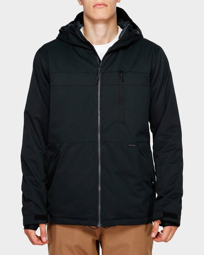 1 All Day 2L 10K Jacket Black Q6JM14S Billabong
