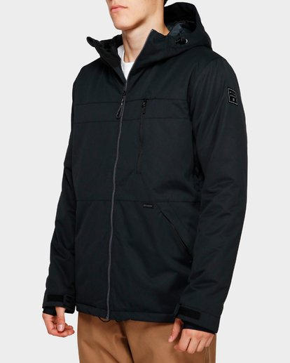 2 All Day 2L 10K Jacket Black Q6JM14S Billabong