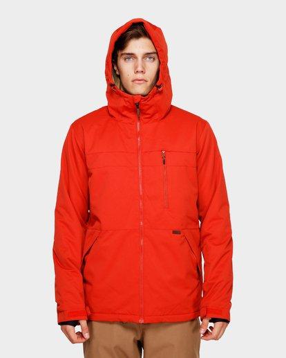 4 All Day 2L 10K Jacket Red Q6JM14S Billabong