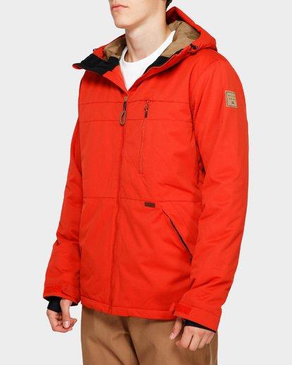 2 All Day 2L 10K Jacket Red Q6JM14S Billabong