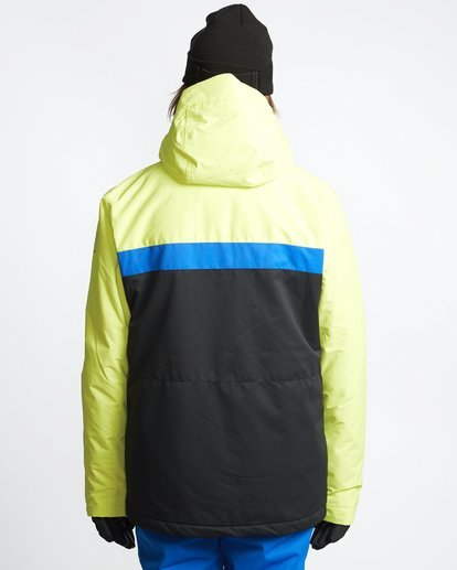 2 All Day 2L 10K Jacket Yellow Q6JM14X Billabong
