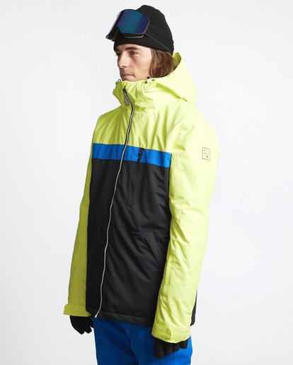 1 All Day 2L 10K Jacket Yellow Q6JM14X Billabong