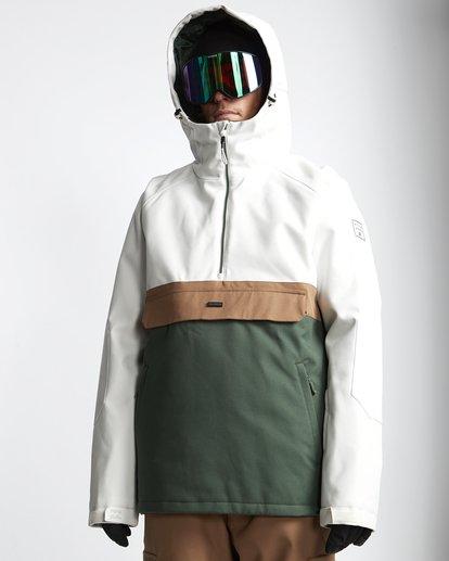 0 Stalefish - Anorak para Nieve para Hombre Verde Q6JM15BIF9 Billabong