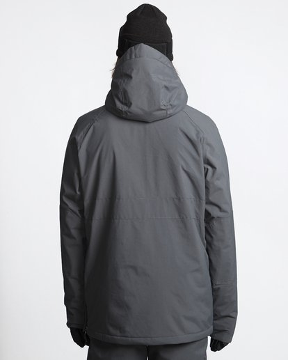2 Stalefish - Snow Anorak for Men Grey Q6JM15BIF9 Billabong