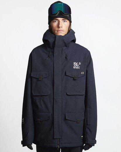 1 Adversary - Snow Jacket for Men Black Q6JM16BIF9 Billabong