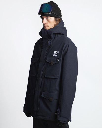 3 Adversary - Snow Jacket for Men Black Q6JM16BIF9 Billabong