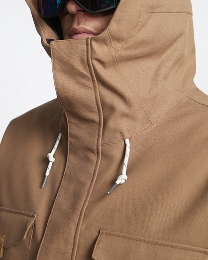 7 Adversary - Giacca da Snow da Uomo Brown Q6JM16BIF9 Billabong