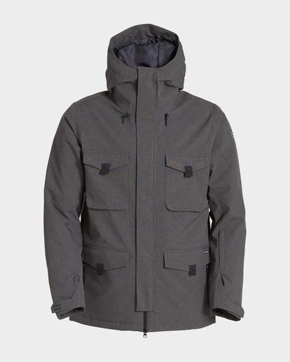 4 Adversary 2L 10K Jacket Grey Q6JM16S Billabong
