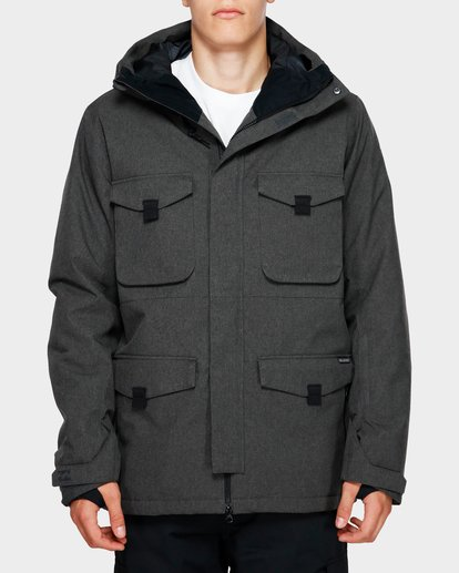 1 Adversary 2L 10K Jacket Grey Q6JM16S Billabong