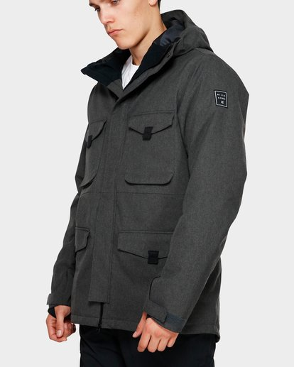 0 Adversary 2L 10K Jacket Grey Q6JM16S Billabong