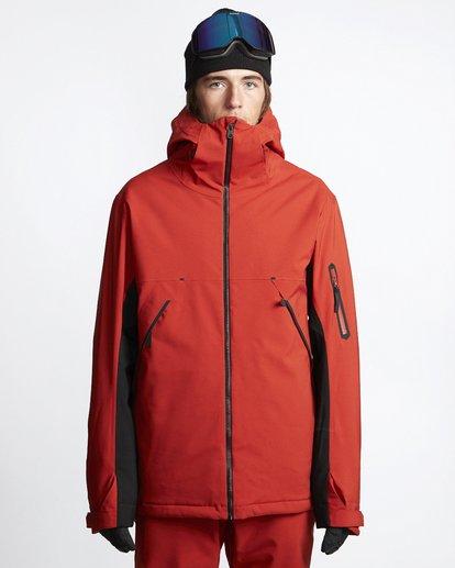 1 Expedition - Chaqueta para Nieve para Hombre Rojo Q6JM17BIF9 Billabong