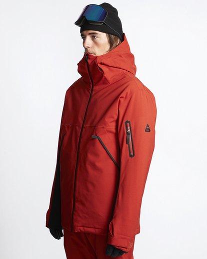3 Expedition - Chaqueta para Nieve para Hombre Rojo Q6JM17BIF9 Billabong