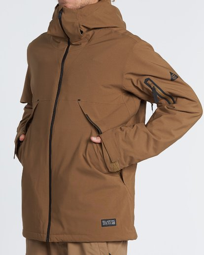 2 Expedition - Snow Jacket for Men Brown Q6JM17BIF9 Billabong