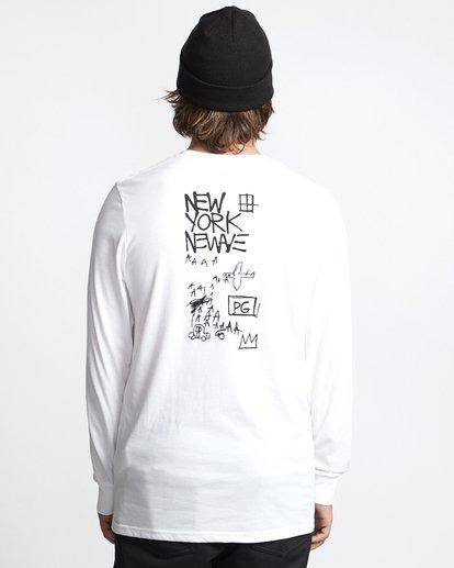 1 Basquiat - Langärmeliges Thermo-T-Shirt für Männer Weiss Q6LS01BIF9 Billabong