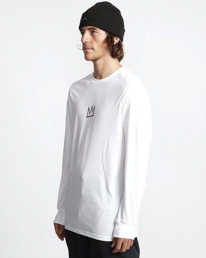 2 Basquiat - Langärmeliges Thermo-T-Shirt für Männer Weiss Q6LS01BIF9 Billabong