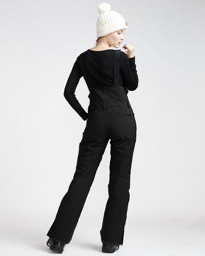 2 Riva - Pantalón para Nieve con Peto para Mujer Negro Q6PF05BIF9 Billabong