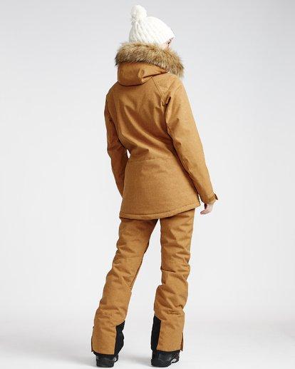 1 Malla - Ski- und Snowboardhose für Frauen Gelb Q6PF07BIF9 Billabong
