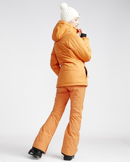 1 Terry - Snow Trousers for Women Orange Q6PF09BIF9 Billabong
