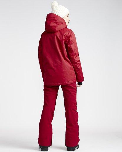 1 Terry - Pantalón para Nieve para Mujer Rojo Q6PF09BIF9 Billabong