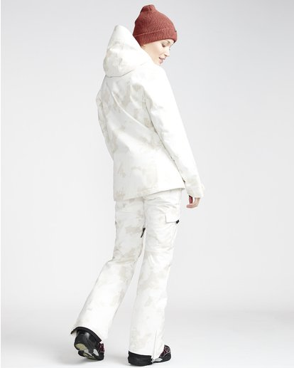 1 Nela - Pantalón para Nieve para Mujer Blanco Q6PF10BIF9 Billabong