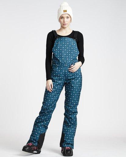 1 Riva Printed - Bib Snow Trousers for Women  Q6PF12BIF9 Billabong