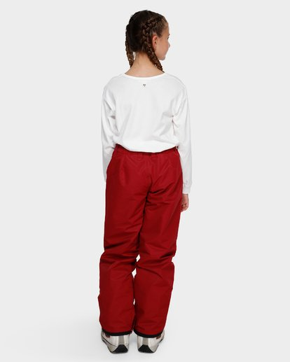 2 Teen Alue 2L 10K Pant Red Q6PG01S Billabong
