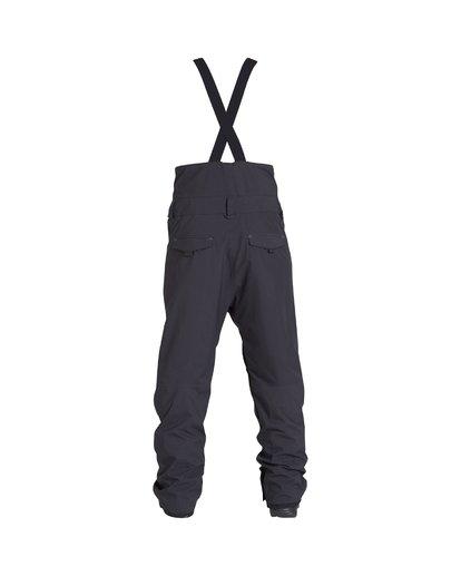 1 North West - Pantalón para Nieve con Peto para Hombre Negro Q6PM05BIF9 Billabong