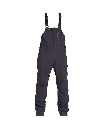 0 North West - Pantalón para Nieve con Peto para Hombre Negro Q6PM05BIF9 Billabong