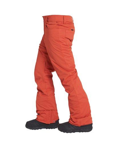 2 Outsider - Ski- und Snowboardhose für Männer Rot Q6PM08BIF9 Billabong