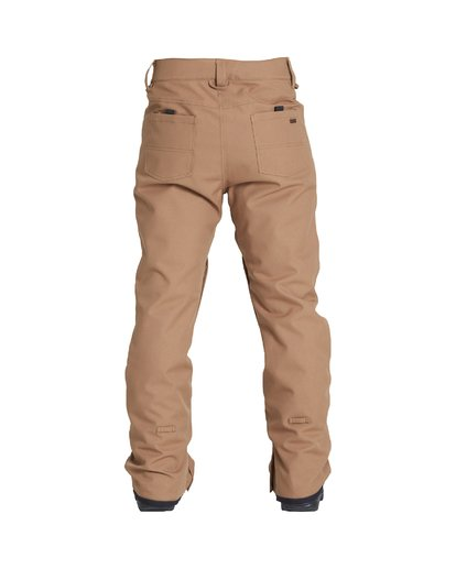 1 Outsider - Snow Trousers for Men Brown Q6PM08BIF9 Billabong
