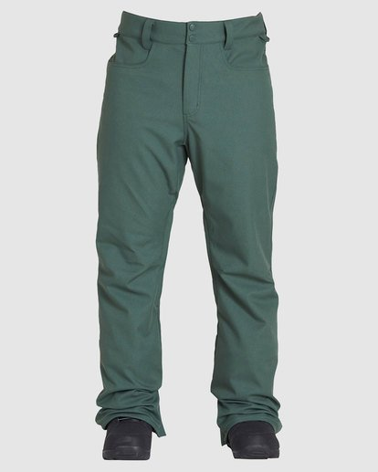 0 Outsider 2L 10K Pant Green Q6PM08S Billabong
