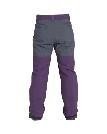 1 Tuck Knee - Snow Trousers for Men Purple Q6PM09BIF9 Billabong