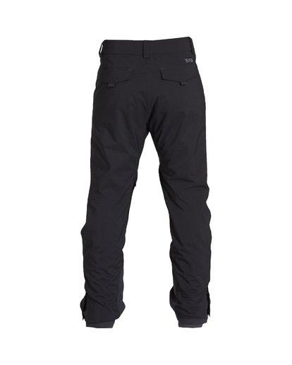 1 Compass - Pantalón para Nieve para Hombre Negro Q6PM11BIF9 Billabong