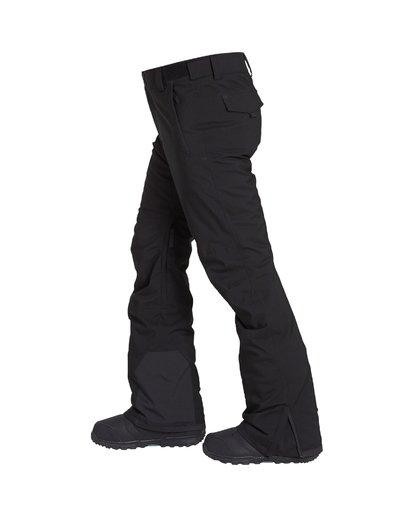 2 Compass - Pantalón para Nieve para Hombre Negro Q6PM11BIF9 Billabong