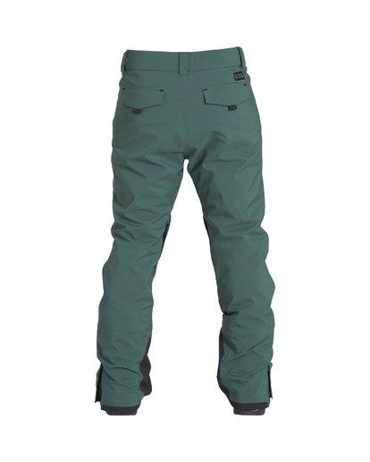 1 Compass - Pantalón para Nieve para Hombre Verde Q6PM11BIF9 Billabong