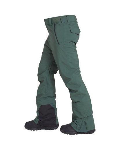 2 Compass - Pantalón para Nieve para Hombre Verde Q6PM11BIF9 Billabong