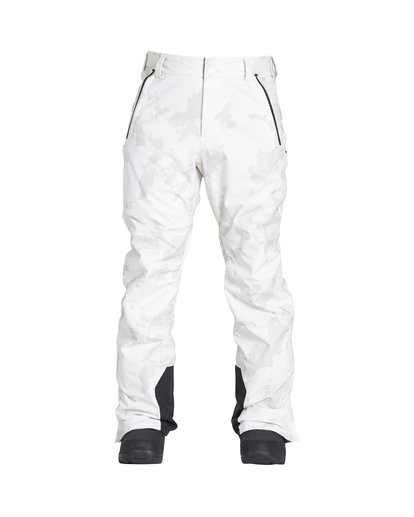 0 Compass - Pantalón para Nieve para Hombre Beige Q6PM11BIF9 Billabong