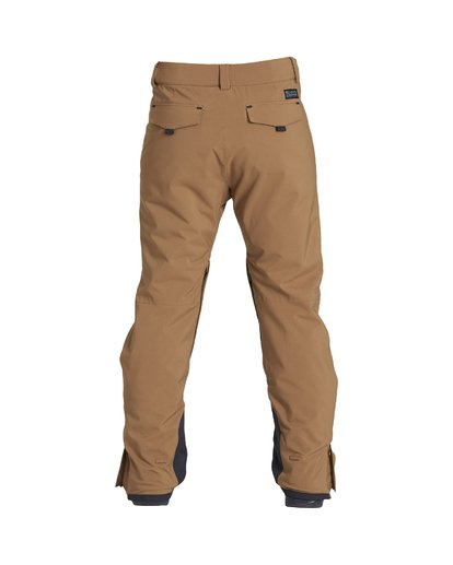 1 Compass - Snow Trousers for Men Brown Q6PM11BIF9 Billabong