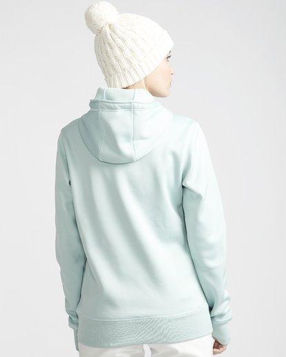 2 Outside Fever - Sudadera con Capucha Hood para Mujer Azul Q6SF01BIF9 Billabong