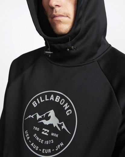 5 Downhill - Hood Funktions-Kapuzenpulli für Männer Schwarz Q6SM02BIF9 Billabong